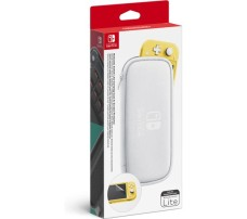 NINTENDO Switch Lite White Carrying Case with screen protector