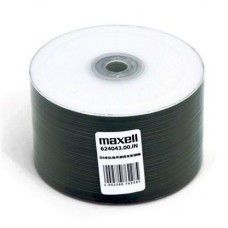 Maxell 52x White Inkjet Printable CD-R 700MB 80 Min - 50 Pack Cellowrap