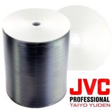 Mediastar Taiyo Yuden Full-Face White Printable DVD-R Pack of 100