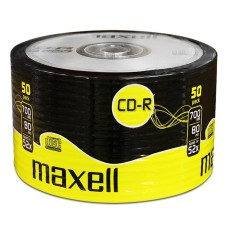 Maxell CD-R 80 700MB 80Min (52x) 50 Pack Shrink Wrap |  624036