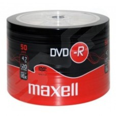Maxell DVD-R 4.7Gb 16x Branded Top 50 Shrink (275732)