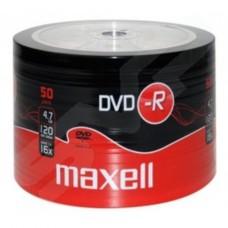 Maxell DVD-R 4.7Gb 16x Branded Top 50 Shrink (275732)