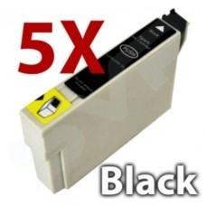 5x Pro-Jet Compatible Epson T0711 G8 Black Inkjet T711