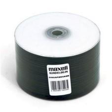 Maxell 52x White Inkjet Printable CD-R 700MB 80 Min - 50 Pack Cellowrap