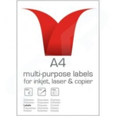 Stampiton Multi Purpose Label 99.1mm x 67.7mm 8 per Sheet Pack of 100