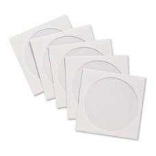 Blake Gummed Window CD Wallet (White) 125mm x 125mm (Pack of 50) - 4210TUC/50