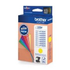 Brother LC223 Inkjet Cartridge (Yellow) 550 Page Yield