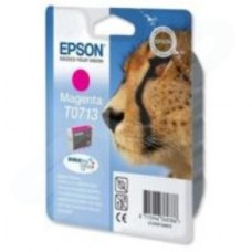 Epson T0713 Magenta Ink Cartridge (Yield 280 Pages)