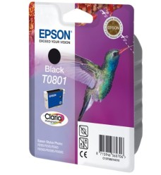 Epson T0801 Black Ink Cartridge