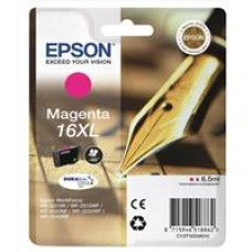 Epson Pen and Crossword 16XL (non-Tagged) Ink Cartridge (Magenta) 6.5ml for Epson WorkForce WF-2010DW/WF-2510WF/WF-2520WF/WF-2530WF/WF-2540WF