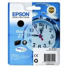 Epson Alarm Clock 27 DURABrite Ultra Ink Cartridge (Black) Blister for WorkForce WF-3620DWF/WF-7610DWF/WF-3640DTWF/WF-7620DTWF/WF-7110DTW Printers