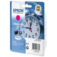 Epson Alarm Clock 27 DURABrite Ultra Ink Cartridge (Magenta) Blister for WorkForce WF-3620DWF/WF-7610DWF/WF-3640DTWF/WF-7620DTWF/WF-7110DTW Printers