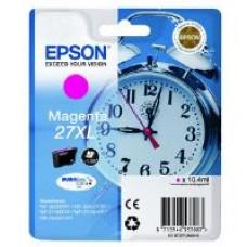 Epson Alarm Clock 27XL DURABrite Ultra Ink Cartridge (Magenta) Blister for WorkForce WF-3620DWF/WF-7610DWF/WF-3640DTWF/WF-7620DTWF/WF-7110DTW Printers