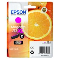 Epson Oranges 33XL (8.9 ml) Claria Premium Magenta Ink Cartridge for Expression Premium XP-530/XP-630/XP-635/XP-830 Printers