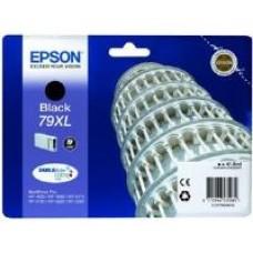Epson 79XL Black DURABrite Ultra Ink Cartridge (41.8 ml) Single Pack for WorkForce Pro WF-4630DWF/WF-5190DW/WF-4640DTWF/WF-5620DWF/WF-5110DW/WF-5690DWF Inkjet Printers