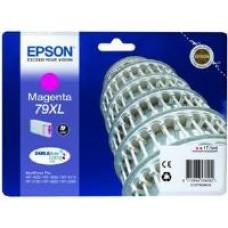 Epson 79XL Magenta DURABrite Ultra Ink Cartridge (17.1 ml) Single Pack for WorkForce Pro WF-4630DWF/WF-5190DW/WF-4640DTWF/WF-5620DWF/WF-5110DW/WF-5690DWF Inkjet Printers