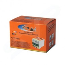 Pro-Jet Epson Compatible Ink T715 PJ-T715G8 Multi Pack