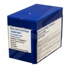 Compatible Pitney Bowes Blue Ink Cart DM300c