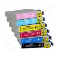 IJ Compatible Epson T807G7 Combo Slim Pack