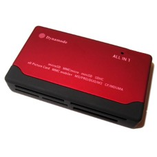 Dynamode USB 6 Slot Multi Card Reader (SDHC, Mini SD, MicroSDHC, XD Picture Card, Memory Stick, MMC Mobile+)