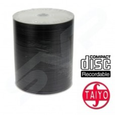 Taiyo Yuden Unbranded Professional Silver Top 48x Speed 80min CD-R 100 Pack