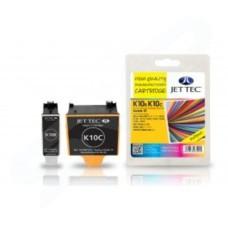 JETTEC Kodak 10 Remanufactured Kodak 10b Black & 10c Colour CMY Multipack Inkjet Cartridges - Replaces Kodak 10 Black & Colour