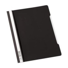 Durable Clear View (A4) PVC Folder (Black) - 1 x Pack 50 Folders
