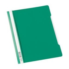 Durable Clear View (A4) Plastic Folder Plastic (Green) - 1 x Pack of 50 Folders