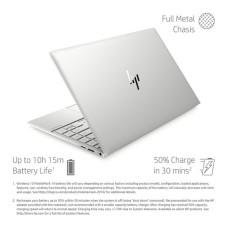 GradeB - HP ENVY 13.3in Silver Laptop - Intel i5-1035G1 8GB RAM 512GB SSD - Windows 10 | Full HD touchscreen