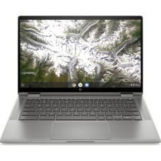 HP x360 14in 2-in-1 Silver Chromebook - Intel Pentium Gold 6405U 4GB RAM 64GB eMMC Touchscreen - Chrome OS
