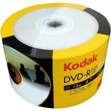 Kodak DVD-R 16x Full Face Printable Discs 4.7GB 50 PACK - 1430150