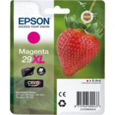 Epson 29XL (T29934010) Magenta Original Claria Home High Capacity Ink Cartridge (Strawberry)