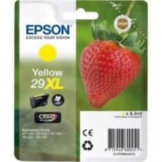 Epson 29XL (T29944010) Yellow Original Claria Home High Capacity Ink Cartridge (Strawberry)