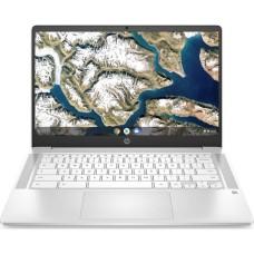 GradeB - HP 14a 14in White Chromebook - Intel Pentium Silver N5000 8GB RAM 128GB eMMC - ChromeOS