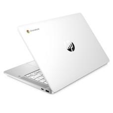 HP 14a 14in White Chromebook - Intel Pentium Silver N5000 8GB RAM 128GB eMMC - ChromeOS