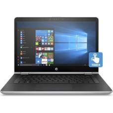 "GradeB - HP Pavilion x360 14-ba091sa 14"" 2 in 1 Laptop/Tablet - Intel Pentium Gold 4415U 4GB RAM 128GB SSD 14"" HD Touchscreen Up to 10.5 hours battery life Windows 10 - Silver"