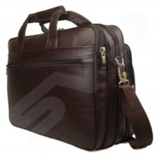 Neo Media High Quality Faux Leather 15.6in Laptop Business Work Briefcase Office Bag