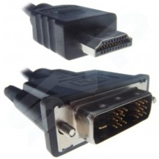 5 Metre HDMI Male to DVI-D Male cable (ferrite cores)