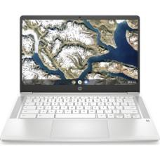 HP 14a 14in White Chromebook - Intel Pentium Silver N5030 4GB RAM 64GB eMMC - ChromeOS