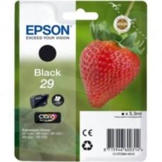 Epson 29 (T29814010) Black Original Claria Home Standard Capacity Ink Cartridge (Strawberry)