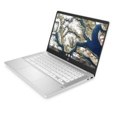 HP 14a 14in White Chromebook - Intel Celeron N4000 4GB RAM 64GB eMMC - Windows 10