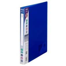 Snopake Elektra (A4) Polypropylene Ring Binder 2 O-Ring 15mm (Blue) Pack of 10 Binders