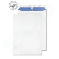 Blake Premium Pure (C4) Pocket Peel and Seal (324mm x 229mm) 120gsm Recycled Woven Envelopes (Super White) Pack of 20