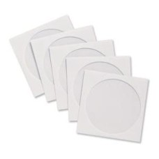 Blake Gummed Window CD Wallet (White) 125mm x 125mm (Pack of 50) - 4210TUC/50
