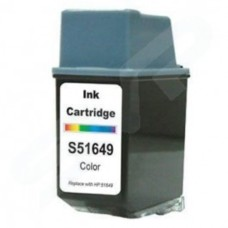 Blue Box Remanufactured HP 49 Colour 51649A Inkjet Cartridge