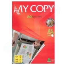 MyCopy 80 Executive A3 80GSM Multifunction White Paper for Laser and Inkjet Printers