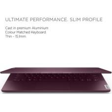 GradeB - LENOVO Yoga Slim 7 14in Orchid Laptop - Intel i5-1035G4 8GB RAM 256GB SSD - Windows 10