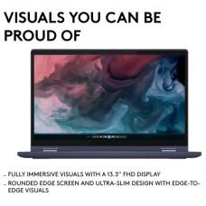 LENOVO Yoga 6 13.3in 2-in-1 Abyss Blue Fabric Laptop - AMD Ryzen 5 5500U 8GB RAM 256GB SSD - WIndows 10   Full HD touchscreen