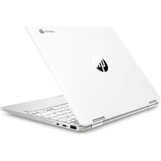 GradeB - HP x360 12in 2-in-1 Silver Chromebook - Intel Celeron N4000 4GB RAM 64GB eMMC Chrome OS