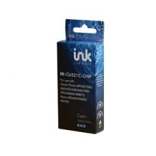 Blue Box Compatible Canon Chipped CLI521 Cyan